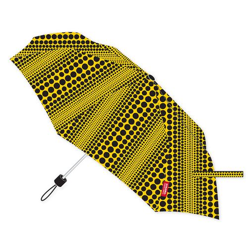 Yayoi Kusama Yellow Collapsible Cosmic Nature Umbrella