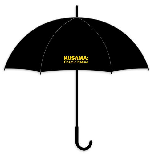 Yayoi Kusama Black Stick Cosmic Nature Umbrella