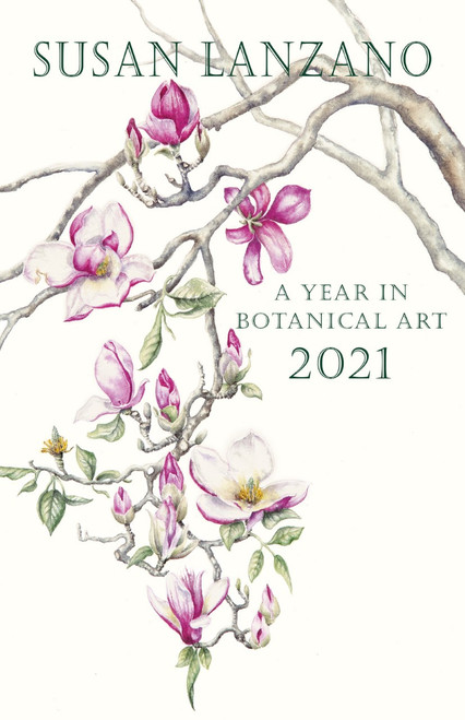 2021: A Year in Botanical Art Calendar Cover