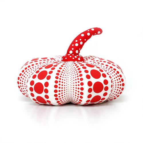 Yayoi Kusama Small Red Soft Pumpkin