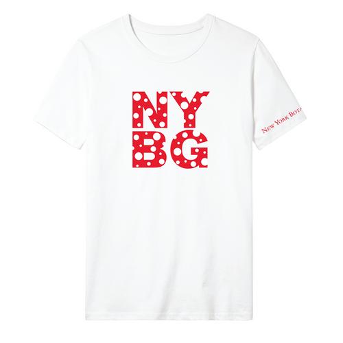 Yayoi Kusama White Cosmic Nature Shirt