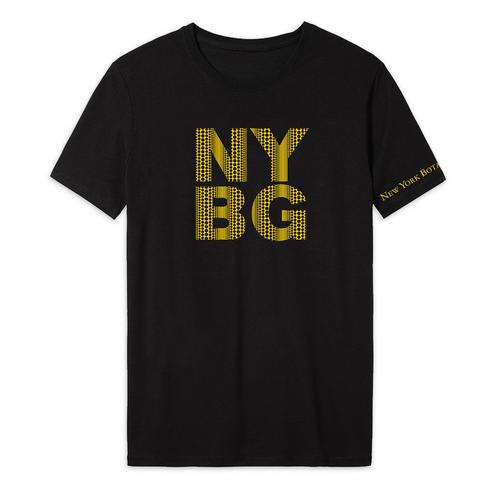 Yayoi Kusama Black Cosmic Nature T-Shirt