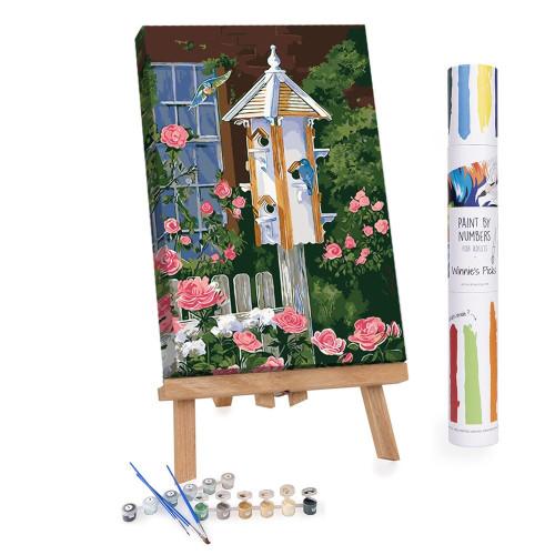 Home Tweet Home Paint by Numbers Kit