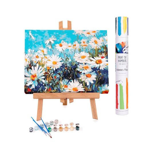 Field of Daisies Paint By Numbers Kit