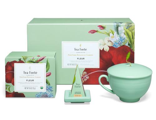 NYBG x Tea Forte Fleur Gift Set