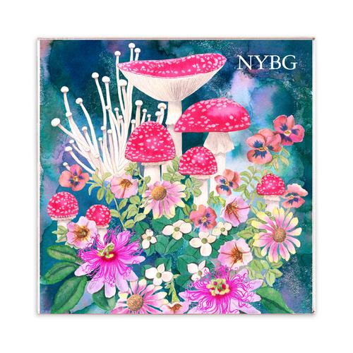 NYBG Mushroom Magnet