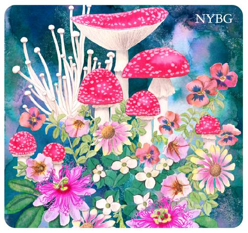 NYBG Mushroom Mousepad