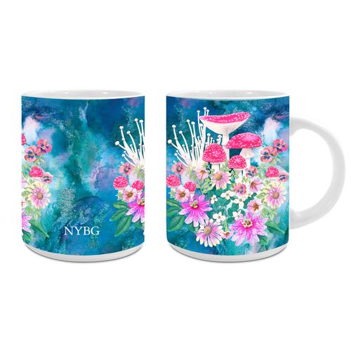 NYBG Mushroom Mug