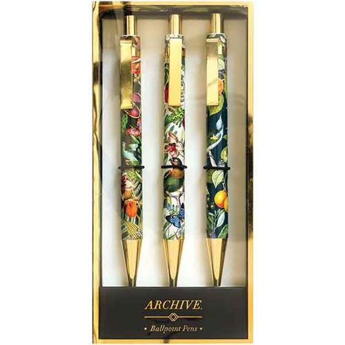 Tropical Pen Set