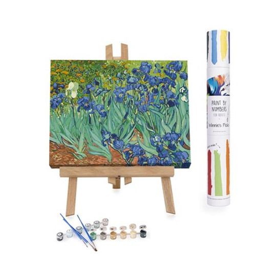 Irises Paint By Numbers Kit