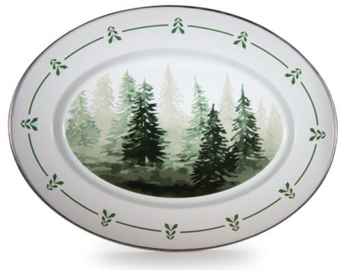 Forest Glen Oval Platter
