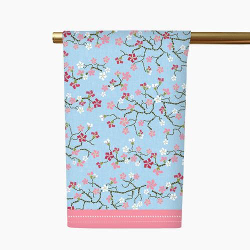 Cherry Blossom Tea Towel