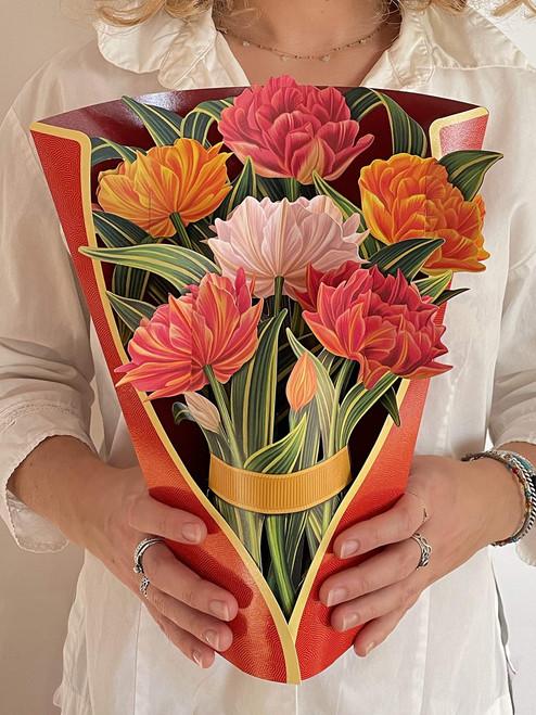Tulip Bouquet Card