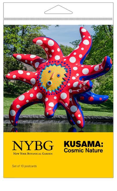 Yayoi Kusama Cosmic Nature Postcard Set
