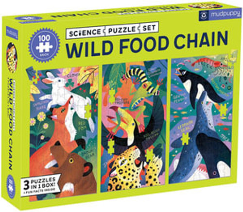 Wild Food Chain - Science Puzzle Set