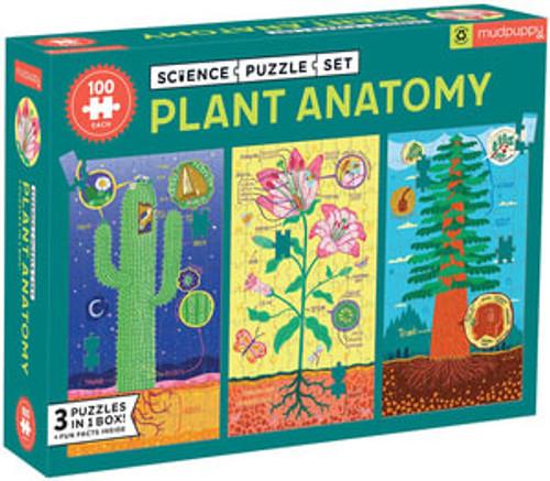 Plant Anatomy - Science Puzzle Set