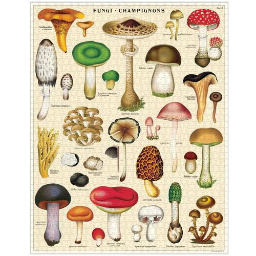 Cavallini & Co - Mushroom Puzzle