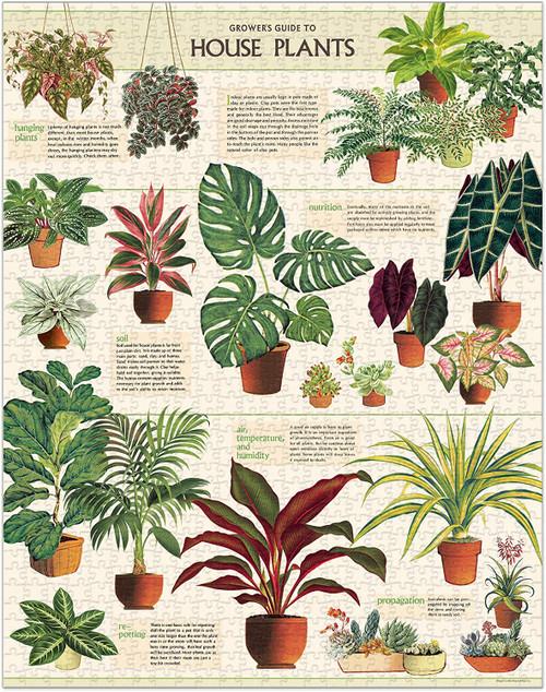 Cavallini & Co - Houseplants Puzzle