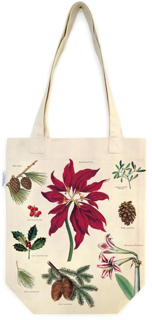 Botanical Holiday Tote Bag