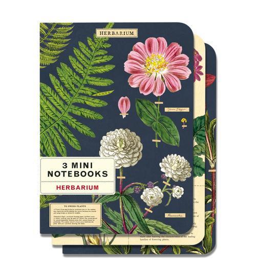 Herbarium Mini Notebook Set