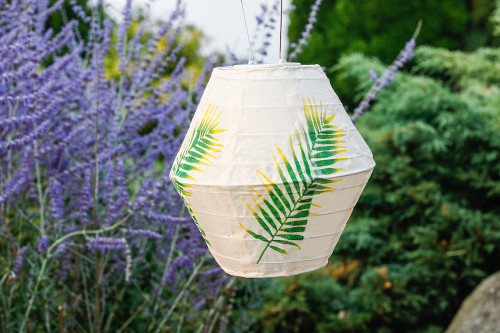 Palm Prism Solar Lantern