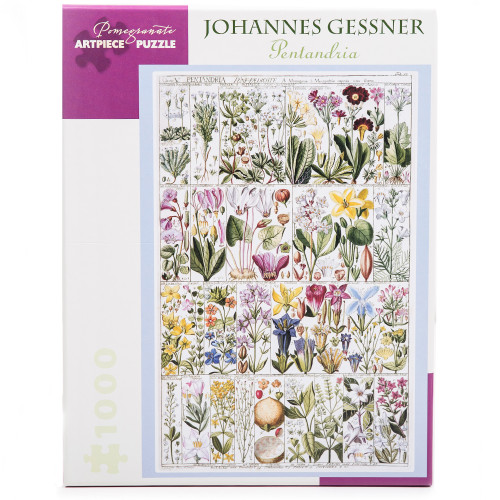 Johannes Gessner: Pentandria 1000-Piece Jigsaw Puzzle