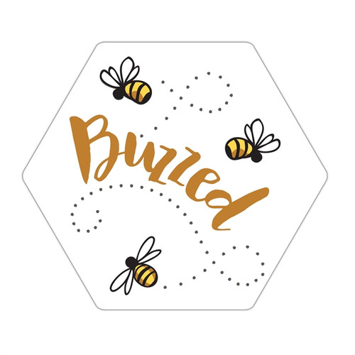 Buzzing Bee Coasters