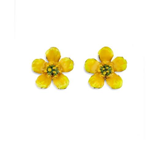 Erwin Pearl x NYBG Buttercup Earrings