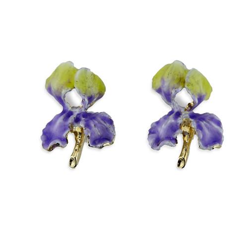 Erwin Pearl x NYBG Iris Earrings