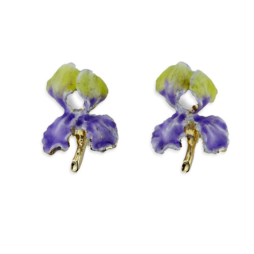 Erwin Pearl x NYBG Iris Earrings