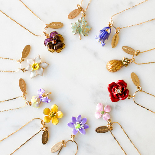 Erwin Pearl x NYBG Wallflower Necklace