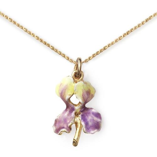 Erwin Pearl x NYBG Iris Necklace