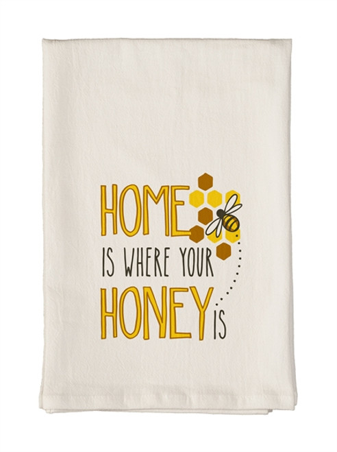 Home is Where Your Honey Is Towel