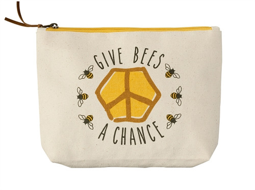 Give Bees a Chance Pouch