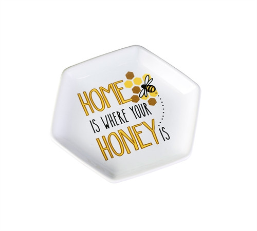 Home Is Where Your Honey Is Trinket Dish