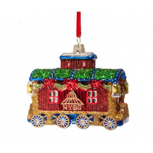 NYBG Caboose Ornament