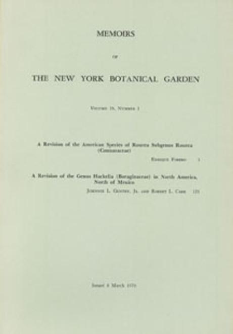 A Revision of the American Species of Rourea Subgenus Rourea. Mem (26)1