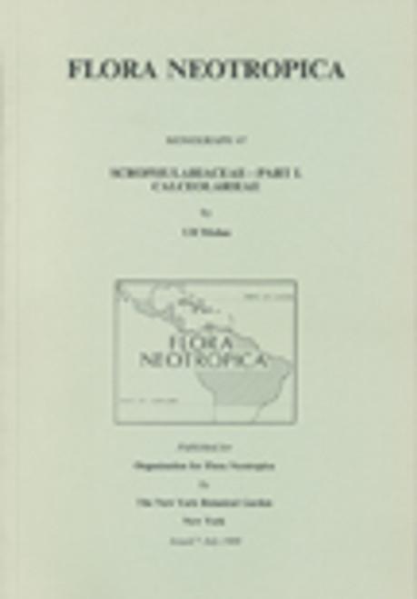 Scrophulariaceae. Part I Calceolarieae. Flora Neotropica (47)