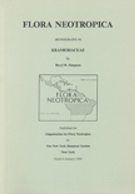 Krameriaceae. Flora Neotropica (49)