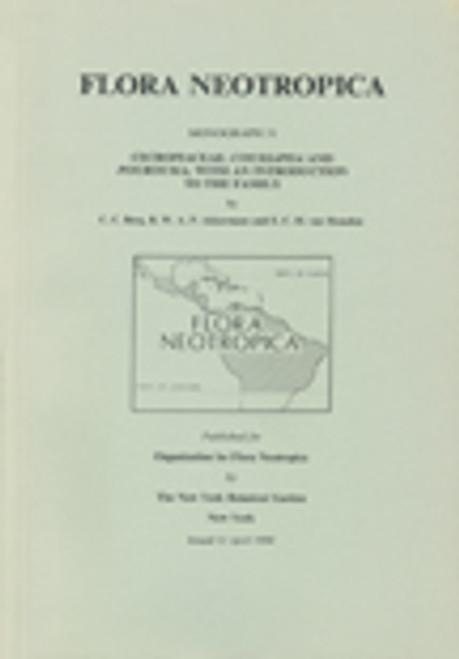 Cecropiaceae: Coussapoa and Pourouma. Flora Neotropica (51)