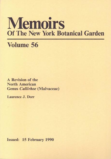 A Revision of the North American Genus Callirhoe (Malvaceae). Mem (56)