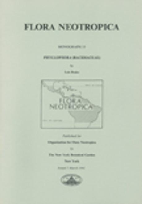 Phyllopsora (Bacidiaceae). Flora Neotropica (55)