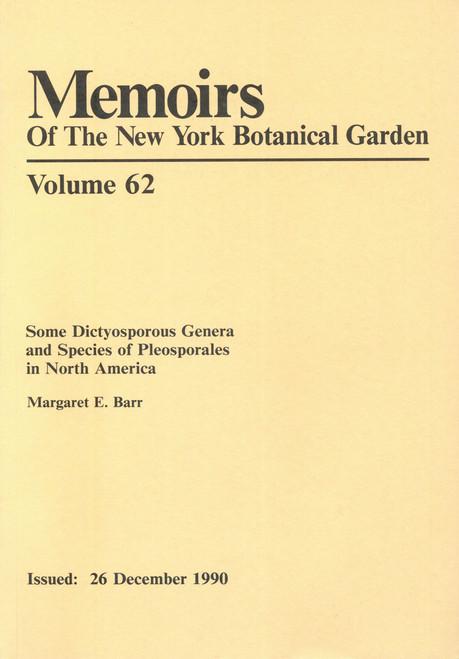 Some Dictyosporous Genera and Species of Pleosporales in North America. Mem (62)