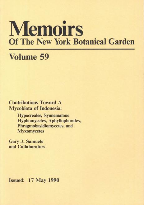 Contributions Toward A Mycobiota of Indonesia. Mem (59)