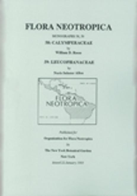 Calymperaceae & Leucophanaceae. Flora Neotropica (58 & 59)
