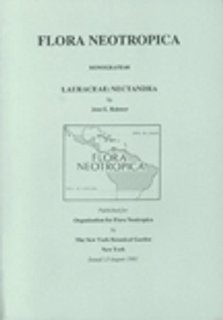 Lauraceae: Nectandra. Flora Neotropica (60)