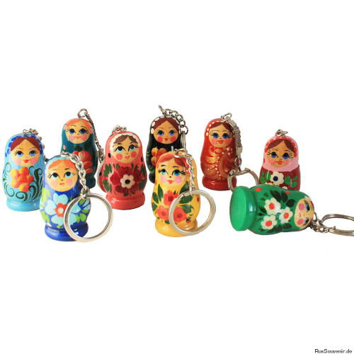 StGregory's charity shop offers cute and fun Russian Matryoshka keyrings: amazing decorative gifts for your children, friends and family.Made of high quality wood material, they are a great addition for keys.