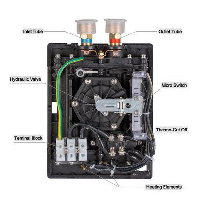 On Demand Instant Hot Water Heater with Self-Modulating ...