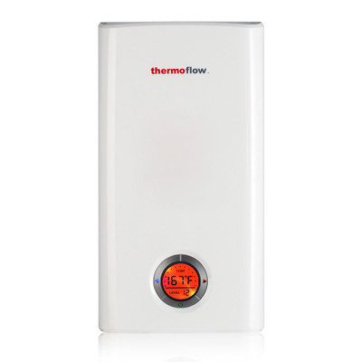 Thermoflow Elex 18 Electric Tankless Water Heater,18kW at 240 Volts, Instant Hot Water Heater with Self-Modulating Temperature Technology