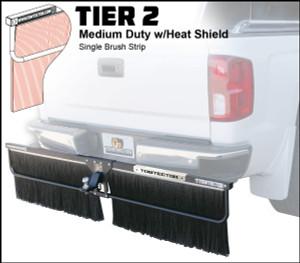 Tier 2 (Medium Duty Single Brush Strip With Heat Shield)